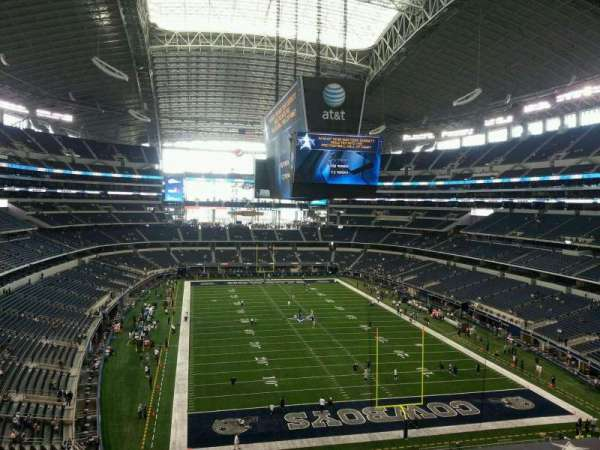 AT&T Stadium, section: 350, row: 4, seat: 4