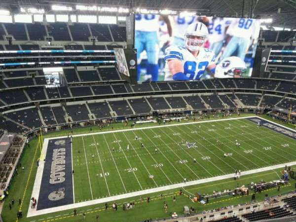 AT&T Stadium, section: 446, row: 5, seat: 21