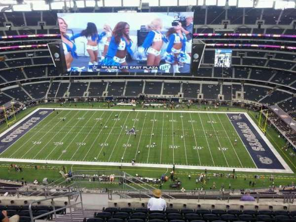 AT&T Stadium, section: 442, row: 17, seat: 23