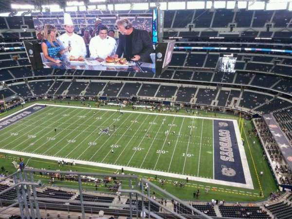 AT&T Stadium, section: 440, row: 11, seat: 25