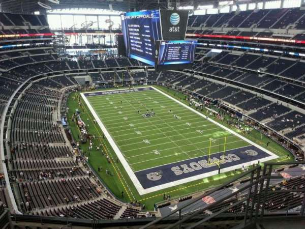 AT&T Stadium, section: 432, row: 11, seat: 5