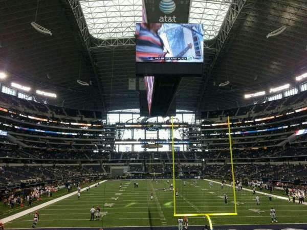 AT&T Stadium, section: 123, row: 18, seat: 23