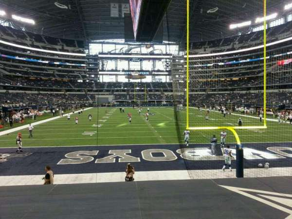 AT&T Stadium, section: 124, row: 8, seat: 8