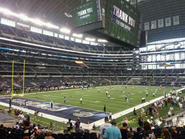 AT&T Stadium, section: 120, row: 20, seat: 1