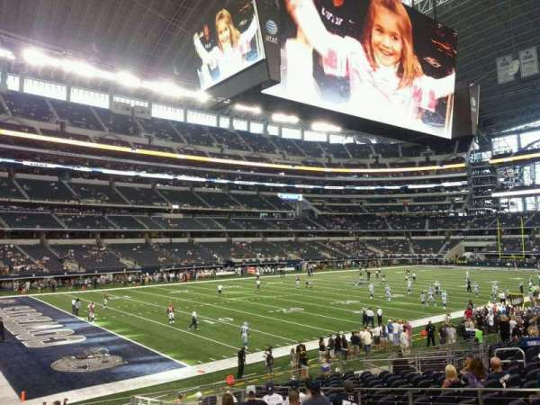 AT&T Stadium, section: 118, row: 18, seat: 10