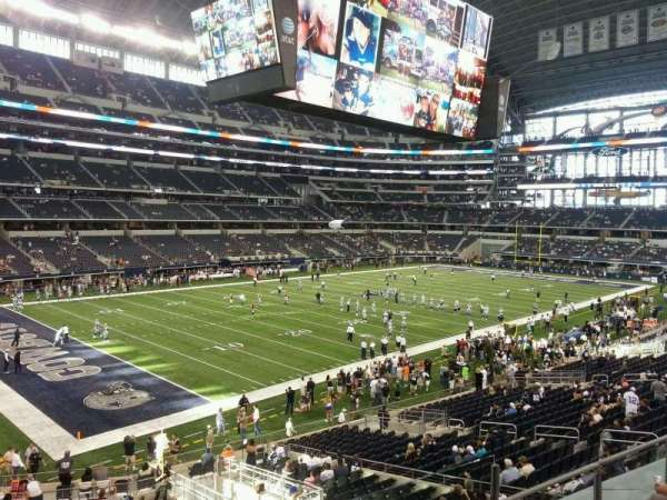 AT&T Stadium, section: 217, row: 4, seat: 3