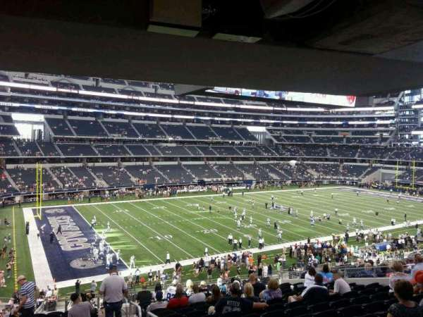 AT&T Stadium, section: 215, row: 15, seat: 1