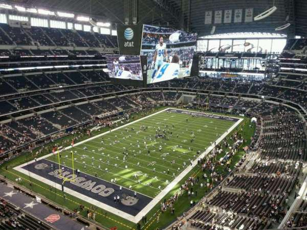 AT&T Stadium, section: 422, row: 6, seat: 17