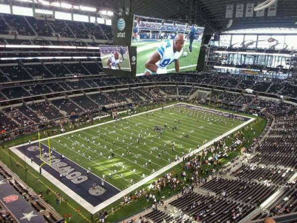 AT&T Stadium, section: 420, row: 4, seat: 21