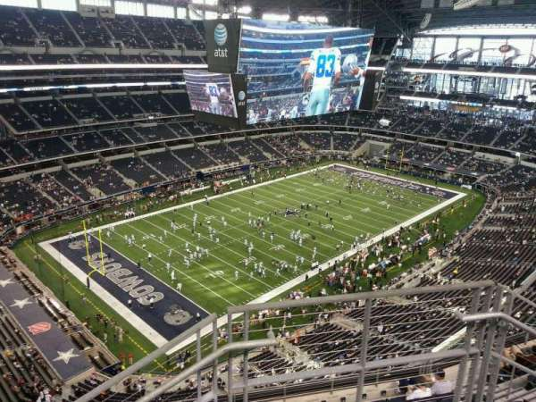AT&T Stadium, section: 420, row: 10, seat: 2