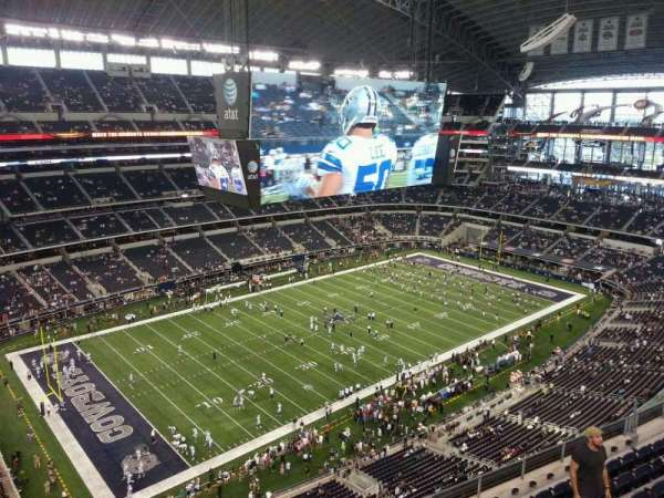 AT&T Stadium, section: 418, row: 9, seat: 13