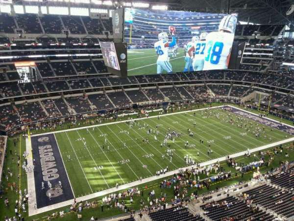 AT&T Stadium, section: 416, row: 4W