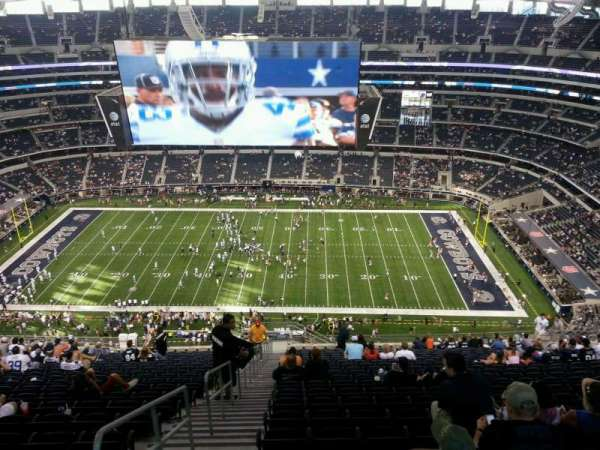 AT&T Stadium, section: 411, row: 30, seat: 26