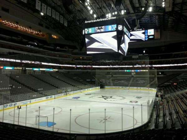 American Airlines Center, section: 123, row: S, seat: 16