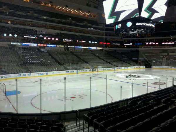 American Airlines Center, section: 122, row: L, seat: 2