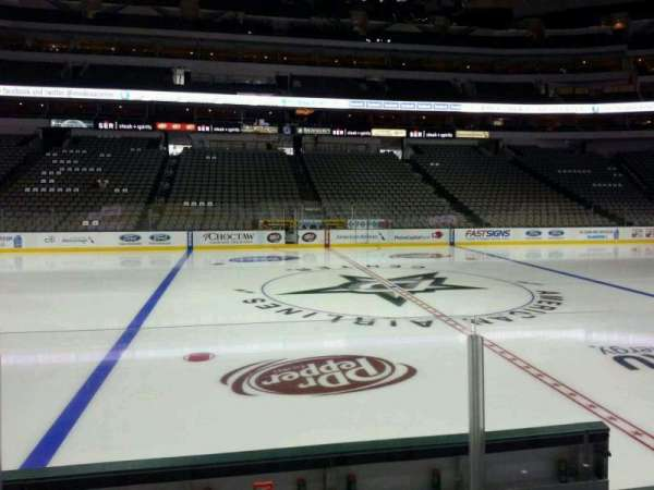 American Airlines Center, section: 119, row: F, seat: 10