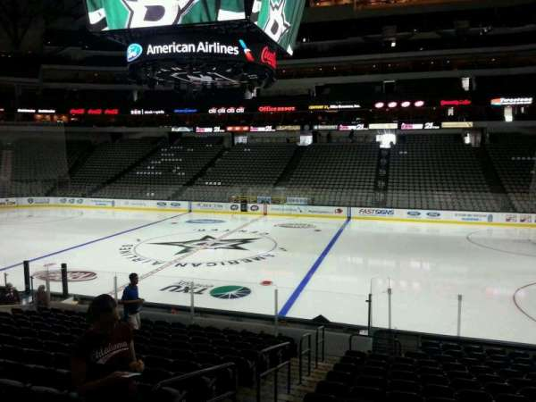 American Airlines Center, section: 117, row: R, seat: 16