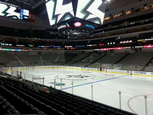 American Airlines Center, section: 116, row: K, seat: 10