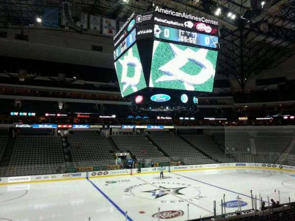 American Airlines Center, section: 108, row: V, seat: 10