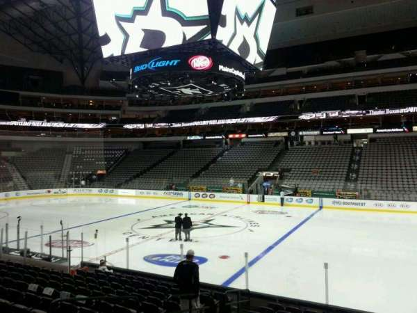 American Airlines Center, section: 105, row: N, seat: 12