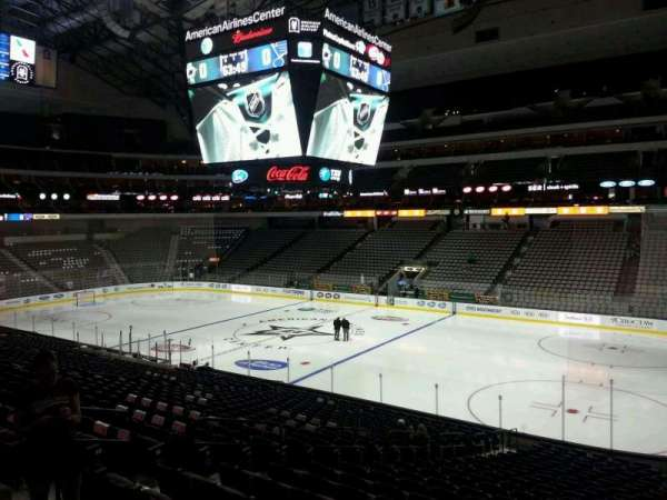 American Airlines Center, section: 104, row: Z, seat: 13