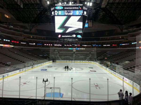 American Airlines Center, section: 124, row: P, seat: 17
