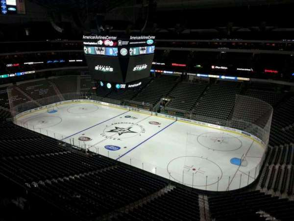 American Airlines Center, section: 306, row: C, seat: 13