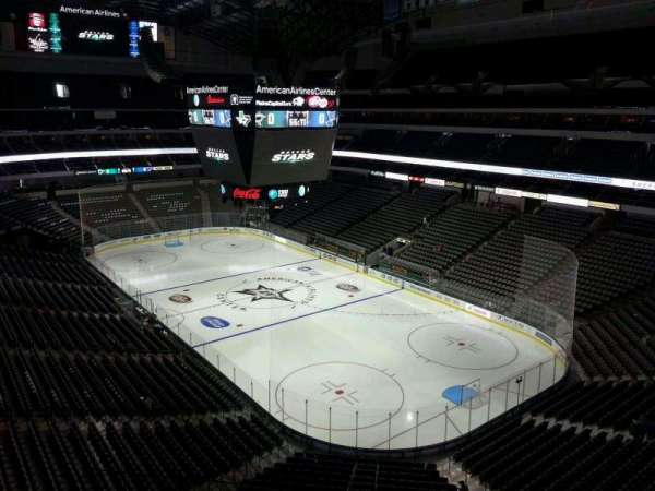 American Airlines Center, section: 304, row: DD, seat: 15