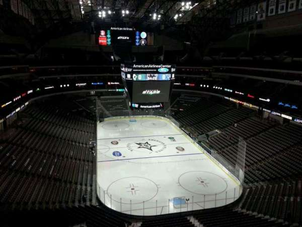 American Airlines Center, section: 302, row: E, seat: 12