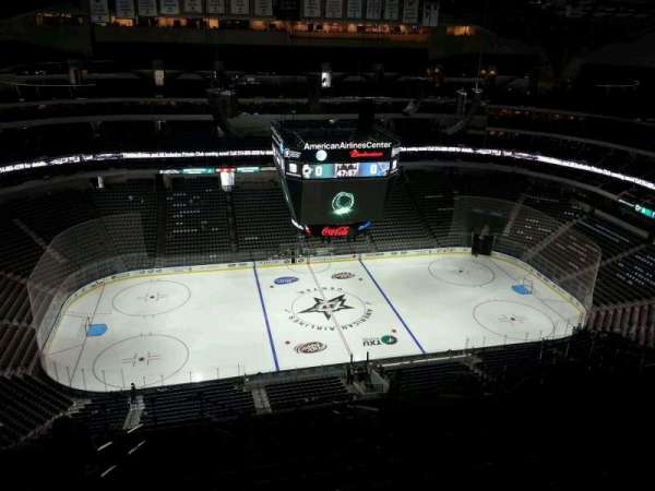 American Airlines Center, section: 327, row: T, seat: 20