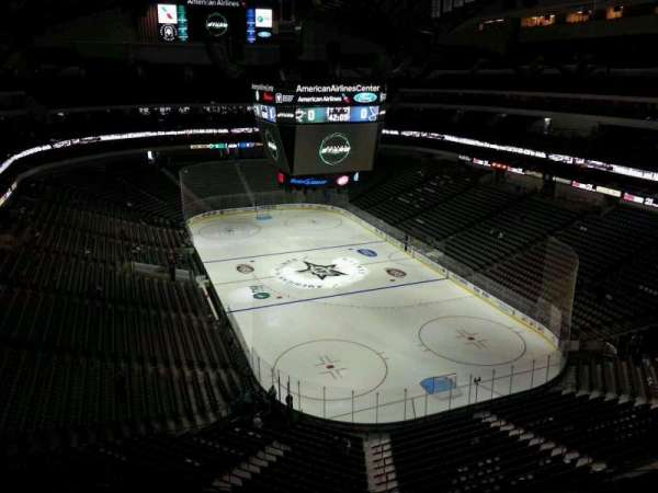 American Airlines Center, section: 320, row: E, seat: 10