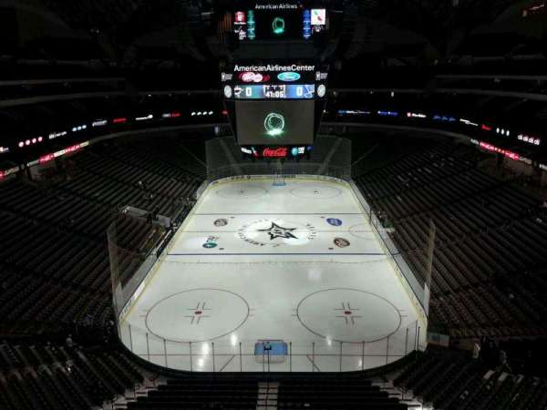 American Airlines Center, section: 318, row: B, seat: 7