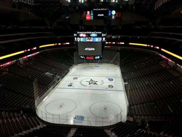 American Airlines Center, section: 317, row: F, seat: 16