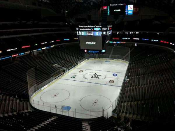 American Airlines Center, section: 316, row: D, seat: 16