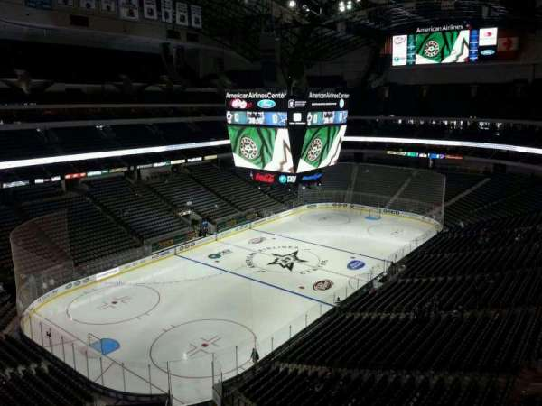 American Airlines Center, section: 314, row: B, seat: 14
