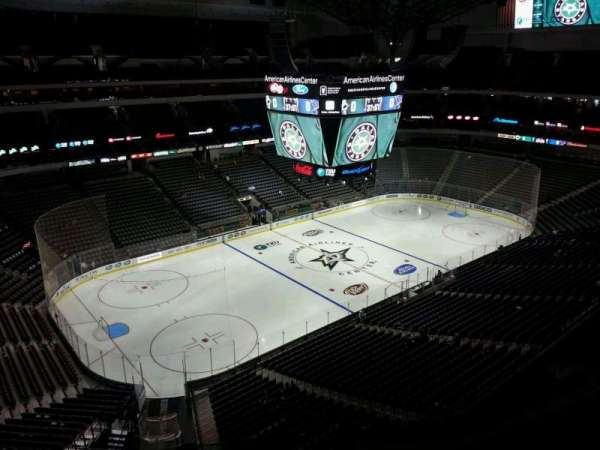 American Airlines Center, section: 313, row: E, seat: 11