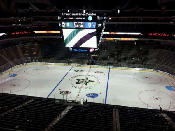 American Airlines Center, section: 309, row: B, seat: 1