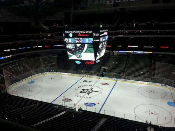 American Airlines Center, section: 308, row: D, seat: 2