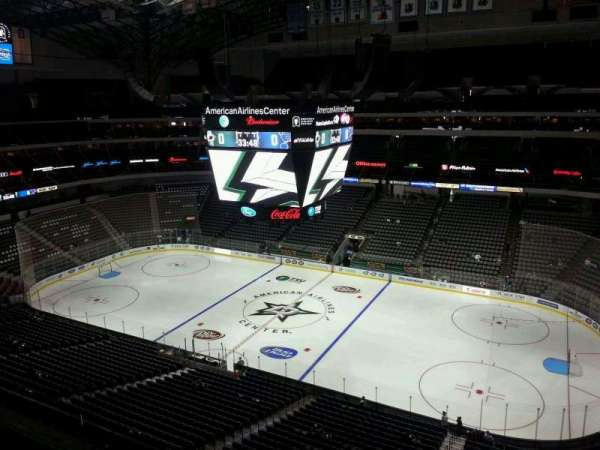 American Airlines Center, section: 307, row: C, seat: 16