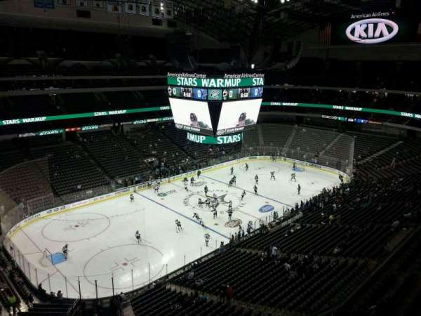 American Airlines Center, section: 313, row: D, seat: 15