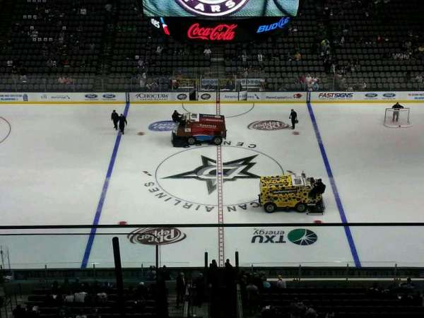American Airlines Center, section: 326, row: G, seat: 9