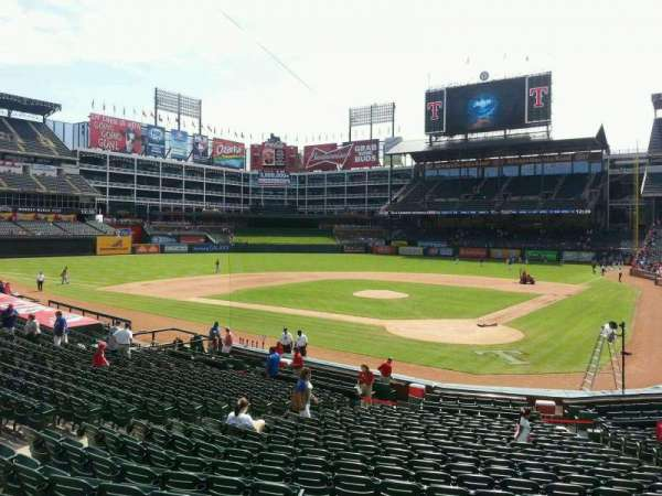Globe Life Park in Arlington, section: 24, row: 21, seat: 2