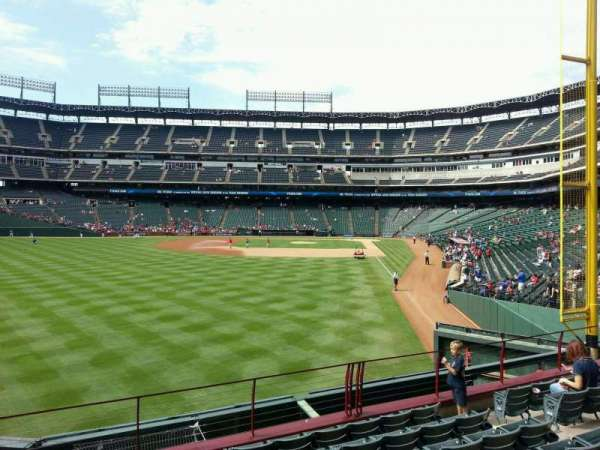 Globe Life Park in Arlington, section: 8, row: 8, seat: 11