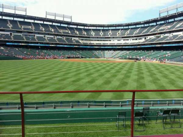 Globe Life Park in Arlington, section: 53, row: 12, seat: 12