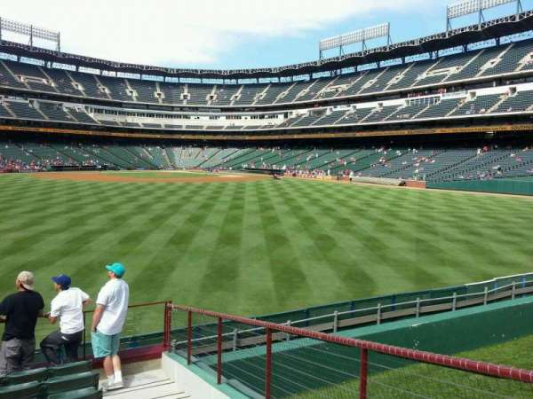 Globe Life Park in Arlington, section: 52, row: 9, seat: 12