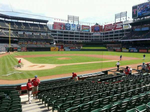Globe Life Park in Arlington, section: 29, row: 12, seat: 17