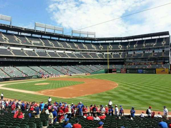 Globe Life Park in Arlington, section: 37, row: 22, seat: 9