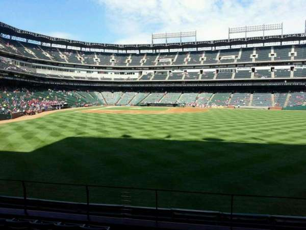 Globe Life Park in Arlington, section: 47, row: 7, seat: 1