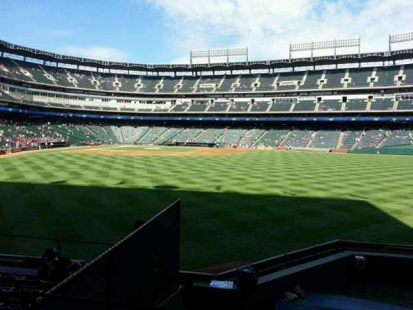 Globe Life Park in Arlington, section: 48, row: 8, seat: 4