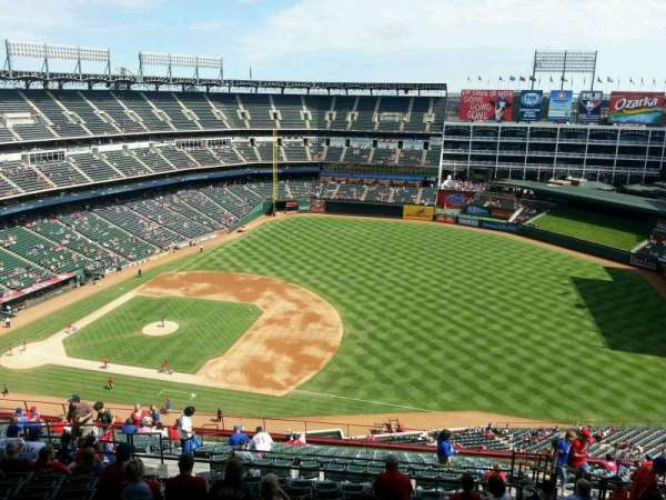 Globe Life Park in Arlington, section: 336, row: 22, seat: 15